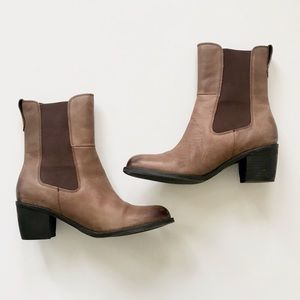 Matisse Ashbury Brown Chelsea Leather Boot Size 9